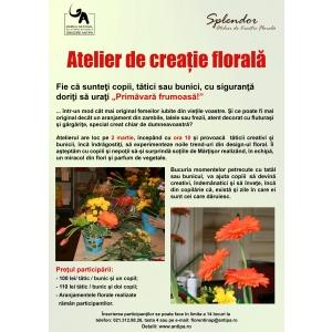 Atelier de creație florală