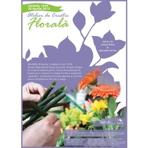 atelier de creatie florala. Atelier de creatie florala