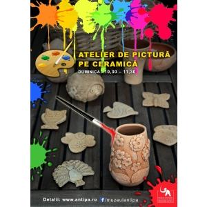 ceramica. Atelier de pictura pe ceramica