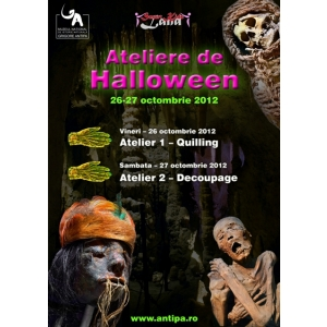 Ateliere de Halloween pentru copii. Ateliere de Halloween pentru copii