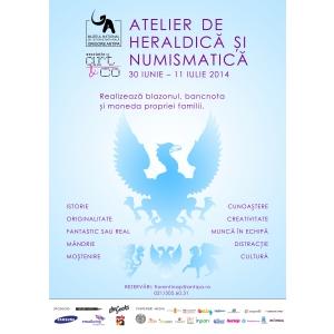 colectia numismatica. Ateliere de heraldica numismatica