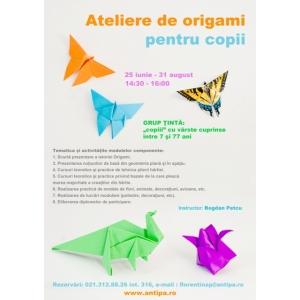 Ateliere de origami pentru copii