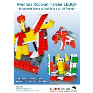 robo animale. Aventura Robo-animalelor LEGO®
