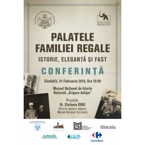 """""""Palatele familiei regale – istorie, elegaţă şi fast"""", la Muzeul  """"Grigore Antipa"""""""