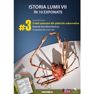 crabi. Crabii - păianjen din pădurile subacvatice