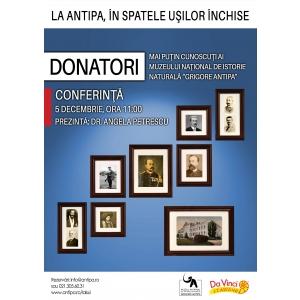 """donatori. Donatori mai puțin cunoscuți ai Muzeului Național de Istorie Naturală """"Grigore Antipa"""""""