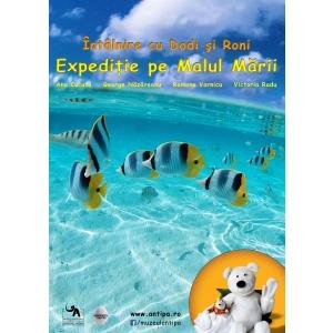 expeditie. Expeditie pe malul marii