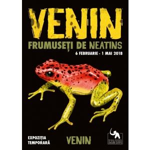 """Expoziția temporară """"Venin – frumuseți de neatins"""", la Muzeul Antipa"""