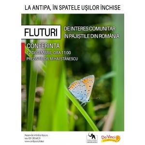 specii de interes comunitar. Fluturi de interes comunitar în pajiștile din România