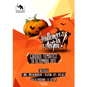 "garage hall. Halloween la ""Antipa""!"