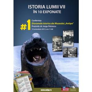 10 exponate. Istoria lumii vii in 10 exponate