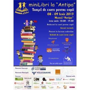 """minilibri. miniLibri, singurul târg de carte pentru copii, va fi pe 8 şi 9 iunie la Muzeul """"Antipa"""""""