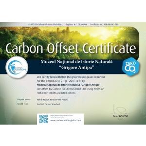 """calculator carbon. Muzeul """"Antipa"""" – primul muzeu carbon neutru din Europa"""