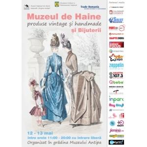 """"""" MUZEUL DE HAINE ŞI BIJUTERII """" - Cel mai chic târg de produse handmade şi vintage, acum în centrul Bucureştiului"""