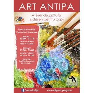 """art antipa. Muzeul Naţional de Istorie Naturală """"Grigore Antipa"""" vă invită să-i aduceți pe cei mici la atelierele Art Antipa"""