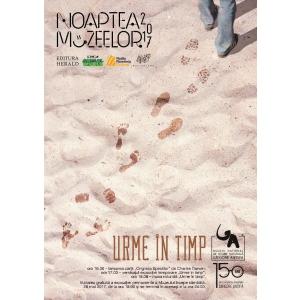 """Noaptea Muzeelor la Antipa - """"Urme în timp"""""""