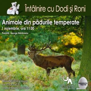 paduri. Întâlnire cu Dodi și Roni: Animale din pădurile temperate