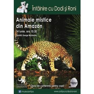 amazon. ÎNTÂLNIRE CU DODI ȘI RONI: ANIMALE MISTICE DIN AMAZON