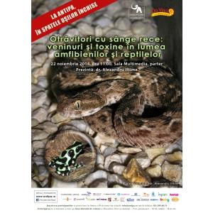 toxine. Otravitori cu sange rece: veninuri si toxine in lumea amfibienilor si reptilelor