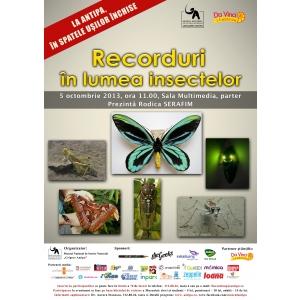 recorduri. Recorduri în lumea insectelor