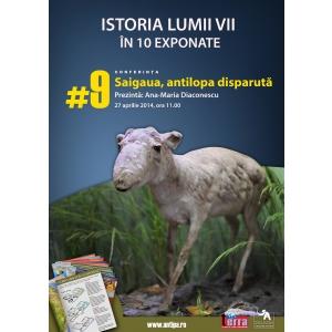antilopa. Saiga – antilopa dispărută din fauna România