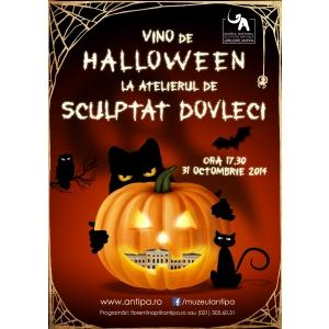 """iscusinta. Vino de Halloween la Muzeul """"Antipa"""", să participi la Atelierul de sculptat dovleci!"""