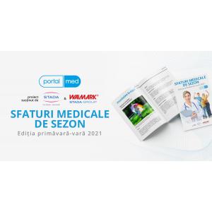 """E-book gratuit – """"Sfaturi medicale de sezon"""" de la PortalMed"""