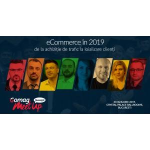 8 Experti discuta despre eCommerce in 2019 la Gomag MeetUp Bucuresti pe 30 ianuarie