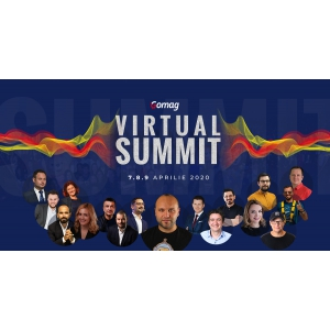 Eveniment online despre marketing si eCommerce - Inscrie-te gratuit la Gomag Virtual Summit 2020