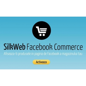 aplicatii fashion pentru Facebook. silkweb facebook commerce