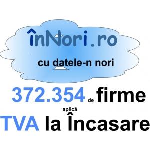 Registrul TVA la Incasare. 372354 de firme aplica TVA la incasare. conform datelor ANAF