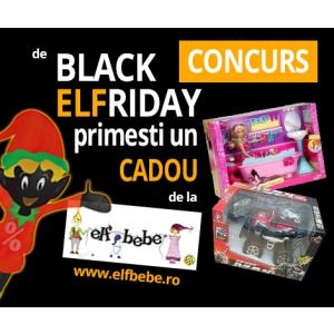 Black Friday 60% Reducere la toate produse + Transport Gratuit si Premii Cadou la ElfBebe.ro