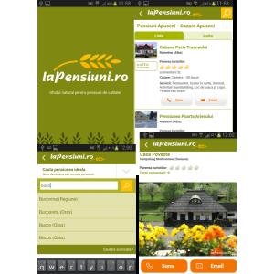 LaPensiuni.ro lanseaza aplicatia Android: cu un simplu