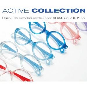 strabism. Active Collection - rame de ochelari pentru copii 0-24 luni/ 2-7 ani