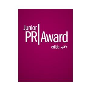 Pr. Junior PR Award, editia a IX-a