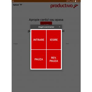 aplicatie. O noua aplicatie pentru Manageri: Productivo Pontaj