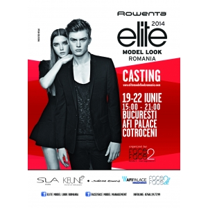 face2face. Casting Rowenta Elite Model Look in Afi Palace Cotroceni, 19-22 iunie