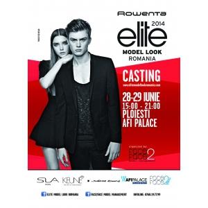 Casting Rowenta Elite Model Look la Afi Palace Ploiesti, 28-29 iunie 2014