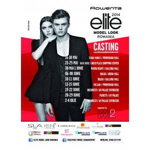 model. Casting Rowenta Elite Model Look Romania 2014