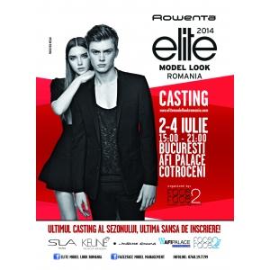 Ultimul Casting Rowenta Elite Model Look al sezonului va avea loc la AFI PALACE COTROCENI, in perioada 2-4 iulie