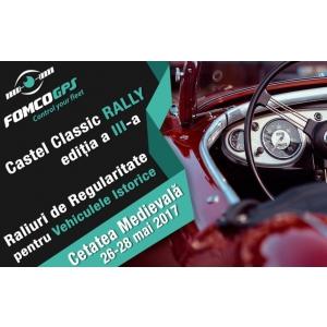 Fomco GPS asigură transmisia live a Castel Classic Rally 2017