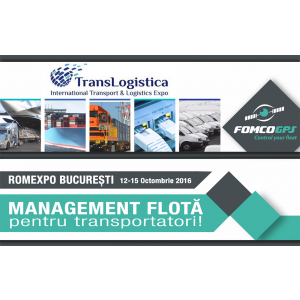 Fomco GPS va participa la TransLogistica 2016