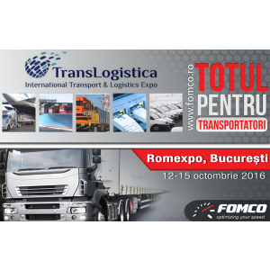 Invitaţie Fomco - Participare la Expo TransLogistica 2016