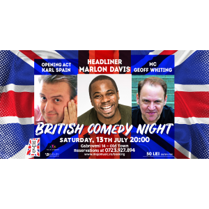 Britich Comedy Night @ club Mojo