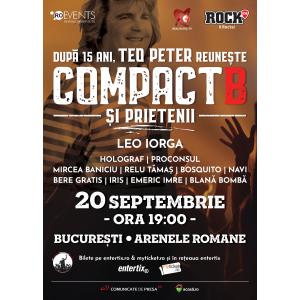 CompactB & Friends | Concert pentru Teo Peter – ultimele bilete Early Bird