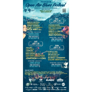 Open Air Bules Festival Brezoi 2019 - Program pe zile
