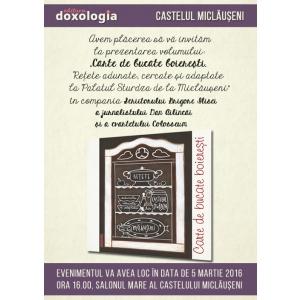 castelul corvinilor. Carte de bucate boierești – Mărțișor la Castelul Miclăușeni