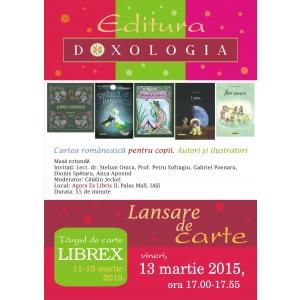 ilustratii. Evenimentele Editurii Doxologia la Librex 2015