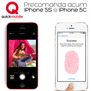 iPhone 5S si iPhone 5C disponibile la precomanda in Romania