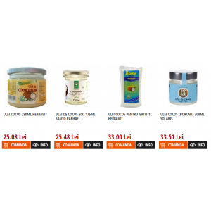 ulei de coco. Beneficiile uleiului de cocos prezentate de Sedi.ro